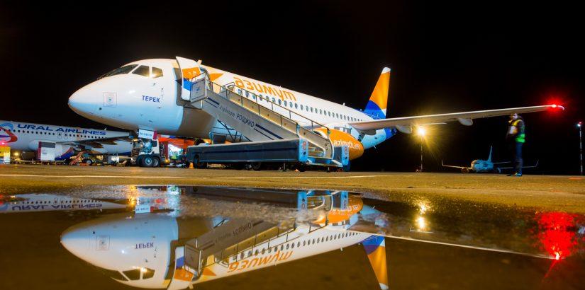 Авиакомпания «Азимут» начала летать в Тюмень