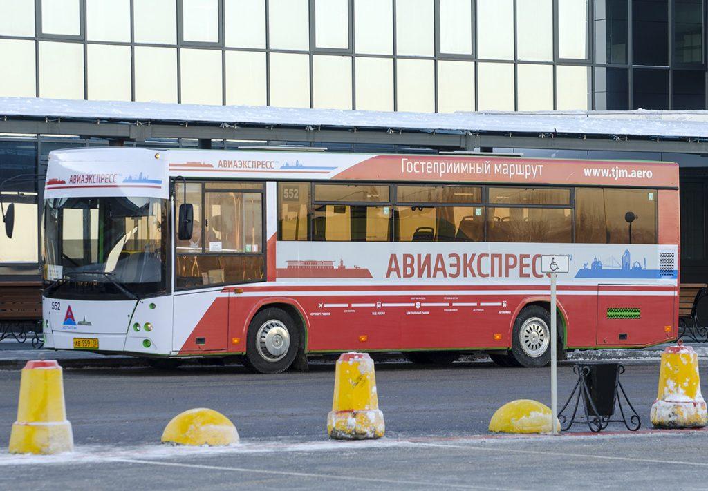 Аэроэкспресс Автобус в аэропорт Тюмени Рощино