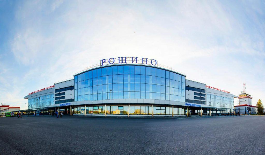 Здание аэропорта Тюмень Рощино